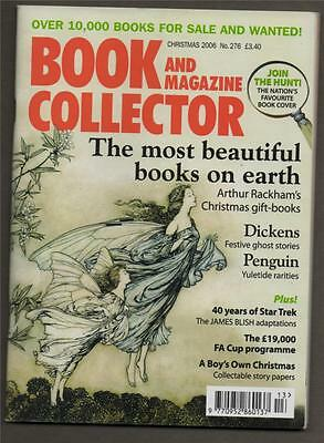Book & Magazine Collector. Star Trek. Arthur Rackham. Penguin.    (b3.280)