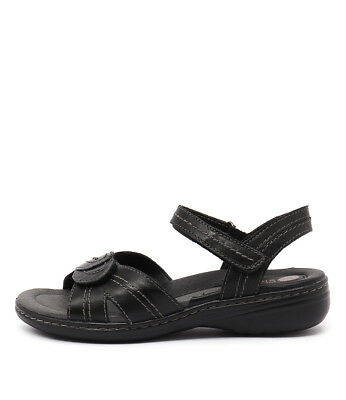 New Planet Ema Black Womens Shoes Casual Sandals Heeled