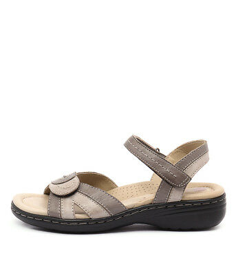 New Planet Ema Grey Multi Womens Shoes Casual Sandals Heeled