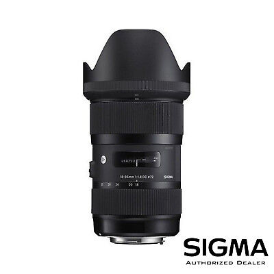 Sigma 18-35mm f/1.8 DC HSM Art Lens for Canon ***USA AUTHORIZED***
