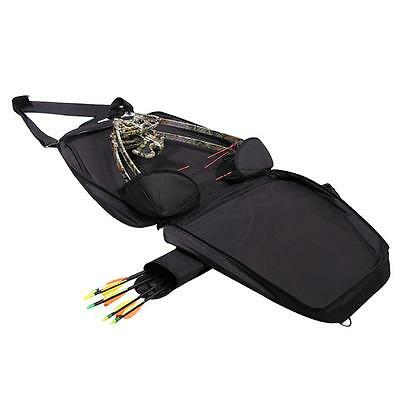 Archery Compound Bow Bag Holder Storage Carry Case Hunting Quiver Size 40x68cm