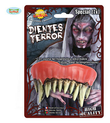 Special FX Zombie Bad Rotten TEETH Thermoplastic Halloween Fancy Dress