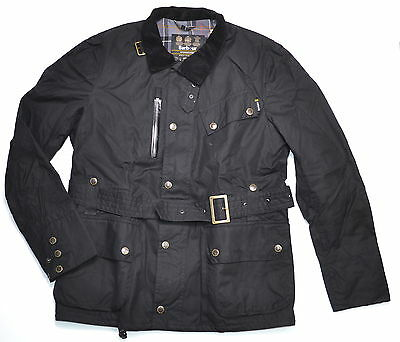 BARBOUR INTERNATIONAL Beacon Waxed Cotton Jacket - Made in England
