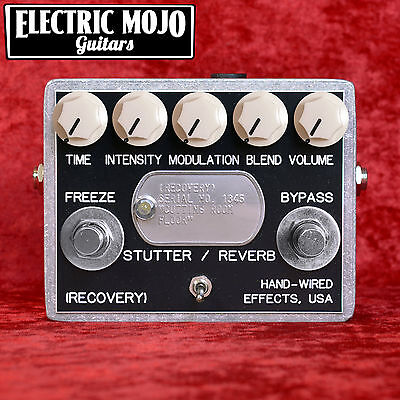 Recovery Effects Cutting Room Floor Delay, Reverb & Modulation Pedal