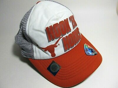 more photos 7d0ca 9af80 New Hat Cap Tow Texas Longhorns Ncaa Burnt Orange Gray White Stretch  5
