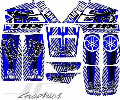 Yamaha banshee full graphics kit blue...