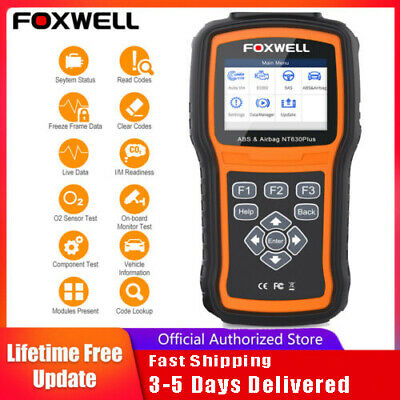 Universal OBD2 II ABS Airbag SRS Code Reader Diagnostic Scan Tool CAN Scanner