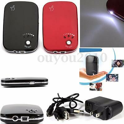 LED Light USB Charger Pocket Electric Hand Warmer Heater Portable Rechargeable