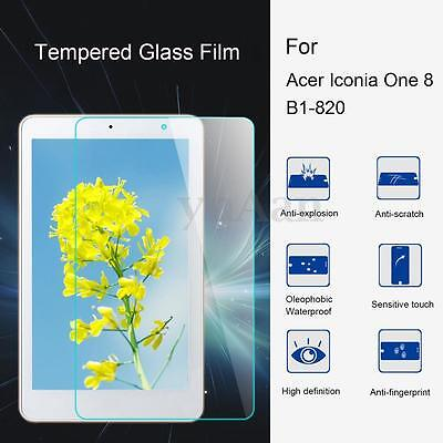 9H Tempered Glass Tablet Screen Protector Film For Acer Iconia One 8 B1-820 8''