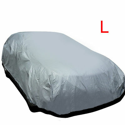 Universal Large Size L Full Car Cover UV Protection Waterproof Breathable