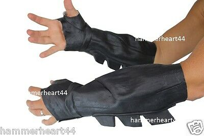 BATMAN BRACER GAUNTLET Dawn of Justice DoJ Latex Gloves Adult