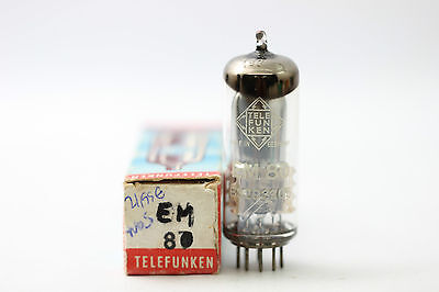 Em80 Tube.eye Magic Telefunken Brand Tube. Nos / Nib. Rc19