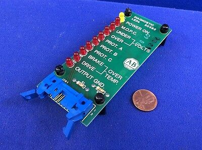 ALLEN BRADLEY 50382 DIAGNOSTIC LEDs BOARD ASSY.
