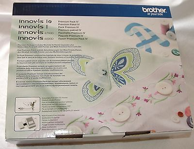 Brother Innovis I IE Embroidery Premium Pack Upgrade Kit IV (4) XF6668-001 B292