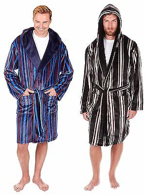 Mens Dressing Gown Bathrobe Luxury Medium Large Xl 2xl 3xl Eur 23