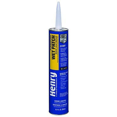 Henry 10.3 oz. Rubber Wet Patch Roof Flashing Cement Coating Sealer Leak Repair