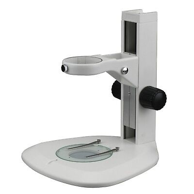 AmScope Large Rounded Microscope Table Stand with Focusing Rack