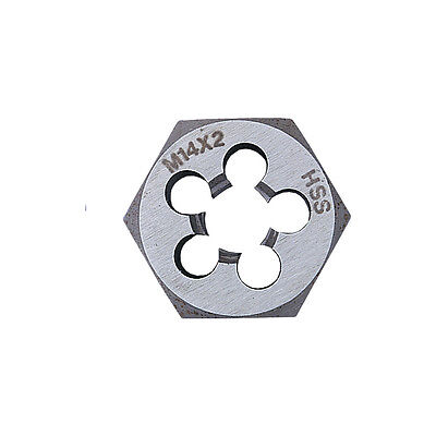Sherwood 7.0X1.00Mm Hss Hexagon Die Nut