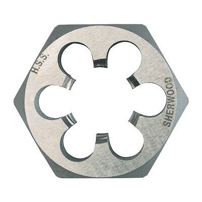 "Sherwood 1/2""X16 Bsf Hss Hexagon Die Nut"