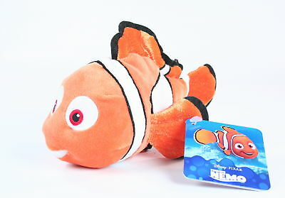 "Finding Nemo NEMO 8"" plush soft toy clownfish Disney Pixar - NEW!"