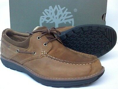 Timberland Barrett Park 2 Eye Boat Shoes Light Brown Non