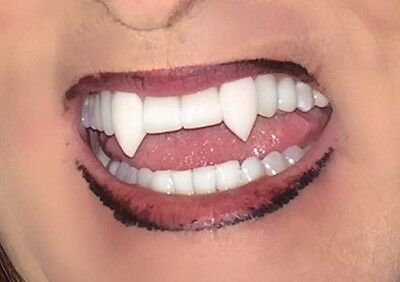 True Blood Vampire Fangs Custom fit to Your Teeth  Movie Quality