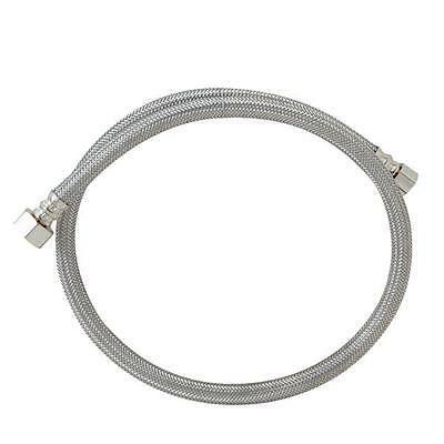 """B&K 3/8"""" x 1/2"""" by 36-inches Long Braided Stainless Steel Faucet Connector"""