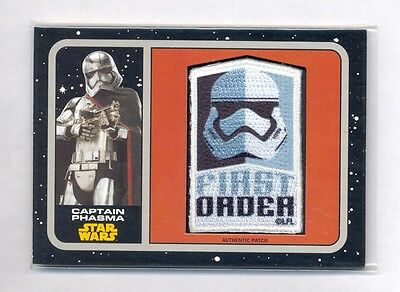 Star Wars Force Awakens S1 First Order Rises Chase Card #2 Captain Phasma