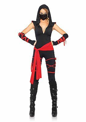 Sexy Japanese Super Girl Deadly Ninja Adult Women Halloween Costume Leg Avenue  sc 1 st  PicClick & SEXY JAPANESE SUPER Girl Deadly Ninja Adult Women Halloween Costume ...