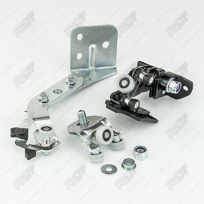 Sliding Door Rollers Ball Set Right Complete - For Fiat Ducato From 2006 New