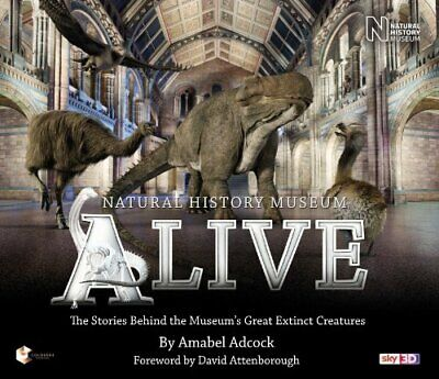 David Attenborough - Natural History Museum Alive by Amabel Adcock Book The