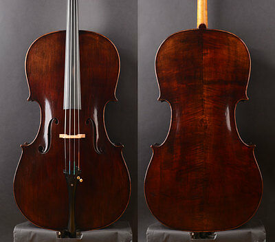 """Advanced model""""William Forster III 1814"""" Copy Cello .Strong deep!Oil varnish"""