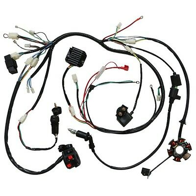 Solenoid Wiring Harness 150cc Go Kart Go Cart Parts Wiring Diagram