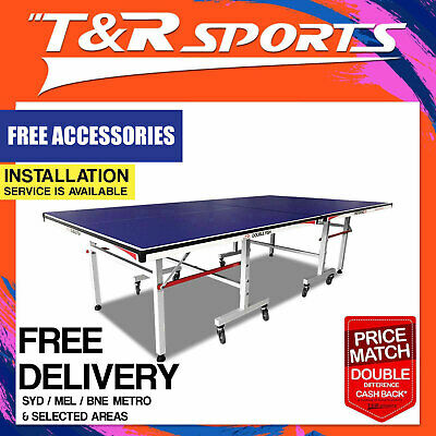 19Mm Pro Size Black Top Double Star Ping Pong Table Tennis Table Free Gift Pack