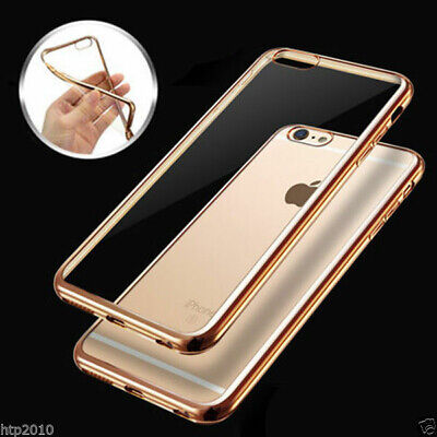 iPhone 6S & 7 / 7 Plus Case, Crystal Ultra Shockproof Gel Cover for Apple AU