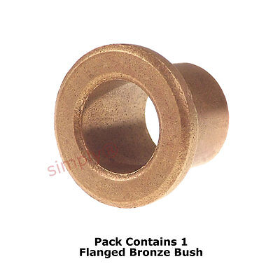 AL1620-16 Oil Filled Bronze Flanged Bush 16x20x16mm