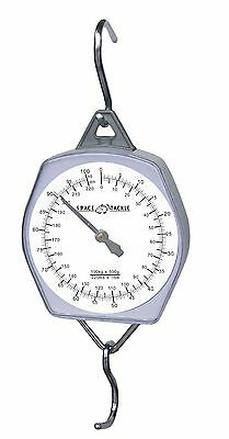 100kg / 220lb LARGE WHITE FACE WEIGHING SCALES FOR CARP / COARSE FISHING