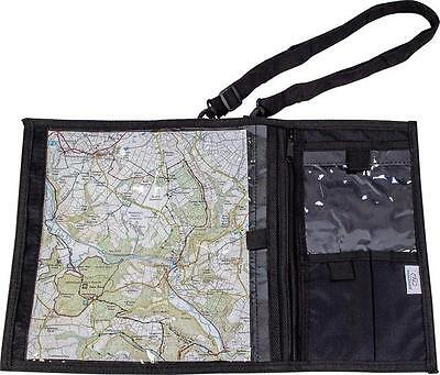 Highlander  Black Walking / Hiking Explorer Map Case D Of E Scouts Trekking