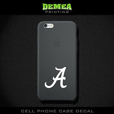 Alabama - Cell Phone Vinyl Decal Sticker - iPhone - Choose Color (X2)