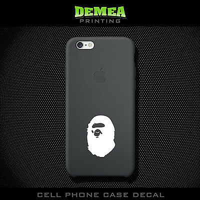 Aape_2 - Cell Phone Vinyl Decal Sticker - iPhone - Choose Color (X2)