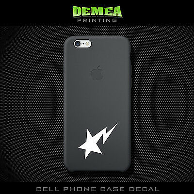Aape_3 - Cell Phone Vinyl Decal Sticker - iPhone - Choose Color (X2)