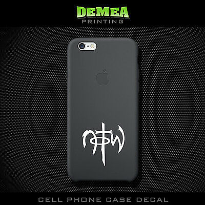 NOTW - Cell Phone Vinyl Decal Sticker - iPhone - Choose Color (X2)