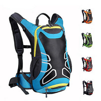 15L Cycling Bag Road/Mountain Bike Sports Running Outdoor Hiking Backpacks Pouch