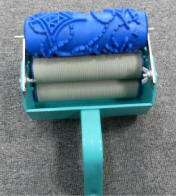 15cm Single Color Wall Decor Green Painting Roller Brush Paint Machine