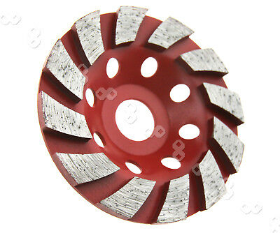 "4"" 100mm Diamond Segment Grinding CUP Wheel Disc Grinder Concrete Granite Stone"
