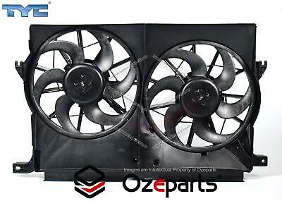 Ford Falcon FG 2008~2014 Twin Thermo Radiator Fan with motors G6 G6E XT R6