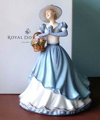 Royal Doulton HAPPY BIRTHDAY Pretty Ladies Figurine 2011 Signed/Michael HN5428