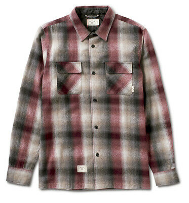 Fourstar Soto Ombre Wool Flannel long-sleeved Shirt - Large (LIMITED EDITION)