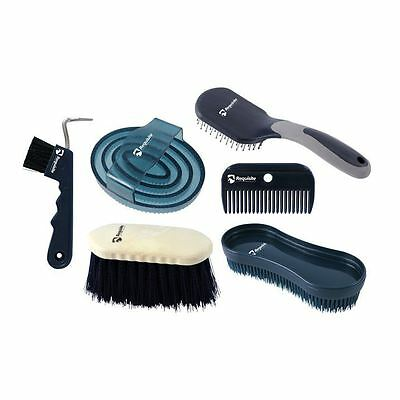 Requisite Grooming Set Hoof Pick Comb Brushes Equestrian Robinsons New