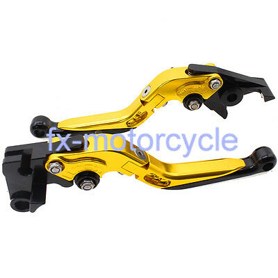 Fold Extend Brake Clutch Levers For Yamaha YZ WR 125 250 500 1991-1995